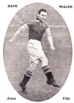 Dave Walsh, Aston Villa 1951