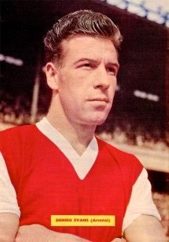 Dennis Evans, Arsenal 1959
