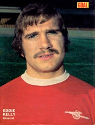 Eddie Kelly, Arsenal 1973-2