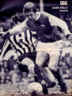 Eddie Kelly, Arsenal 1973