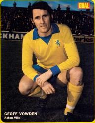 Geoff Vowden, Aston Villa 1973