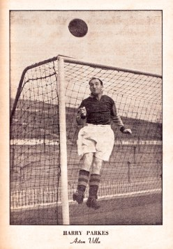 Harry Parkes, Aston Villa 1951