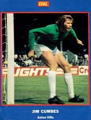 Jim Cumbes, Aston Villa 1973