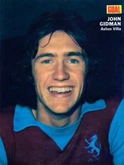 John Gidman, Aston Villa 1972