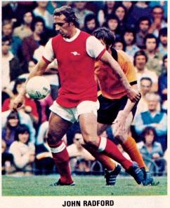 John Radford, Arsenal 1975