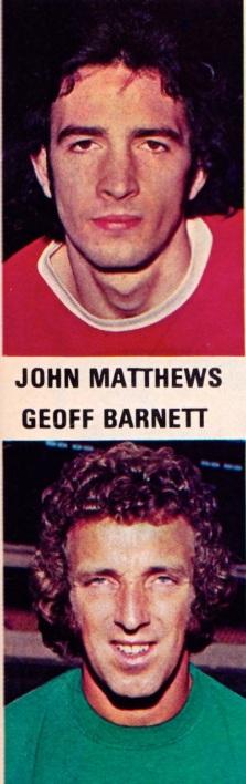 Mathews & Barnett, Arsenal 1975