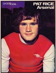 Pat Rice, Arsenal 1974