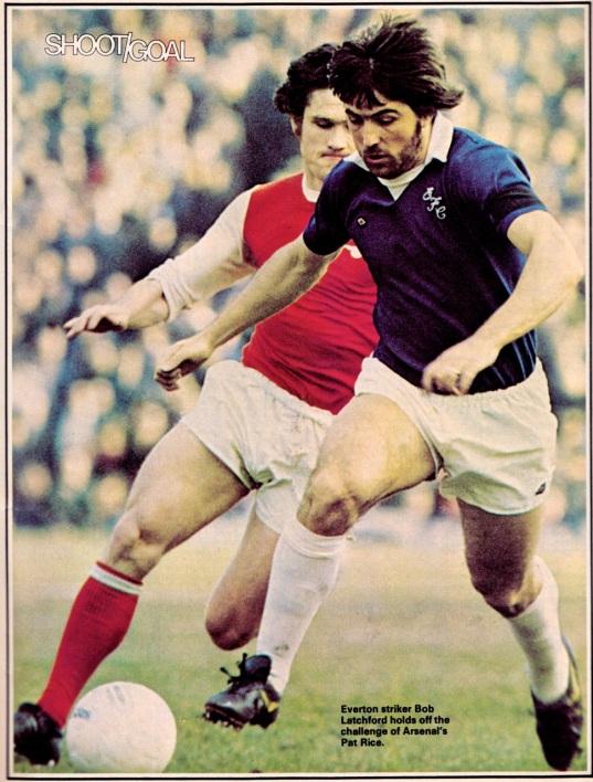Pat Rice, Arsenal 1975