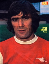 Peter Simpson, Arsenal 1972
