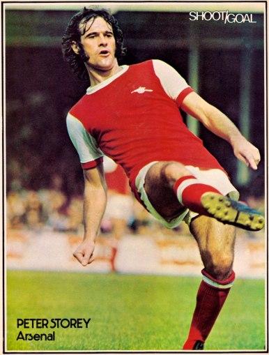 Peter Story, Arsenal 1975