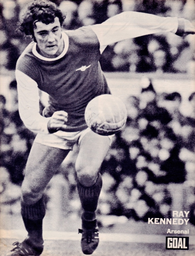 Ray Kennedy, Arsenal 1973