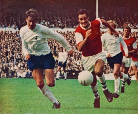 Tottenham v Arsenal 1969