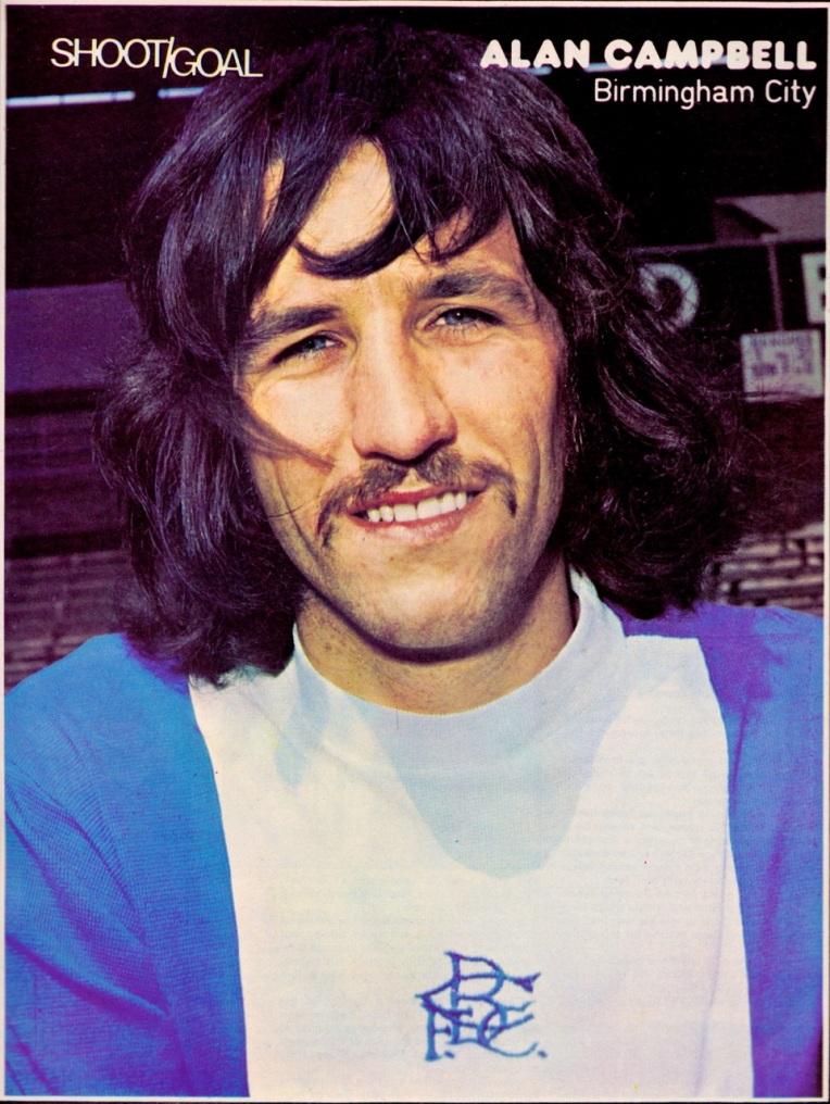 Alan Campbell, Birmingham City 1974