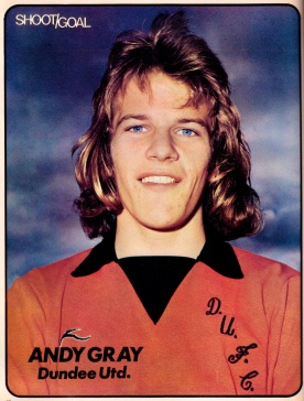 Andy Gray, Dundee United 1975