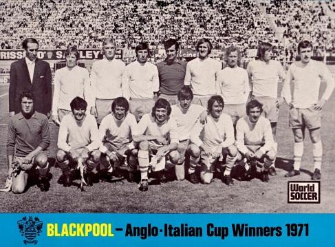 Angli-Italian Cup Winners, 1971