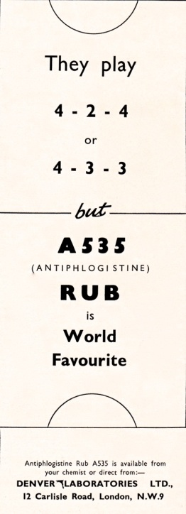 Antiphlogistine 1964