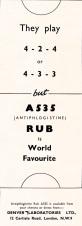 Antiphlogistine 1964