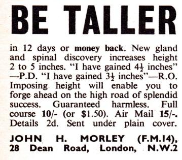 Be Taller 1968
