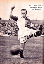 Bill Eckersley, Blackburn Rovers 1951
