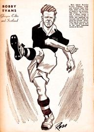Bobby Evans, Celtic 1951