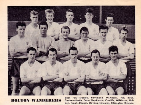 Bolton Wanderers 1962