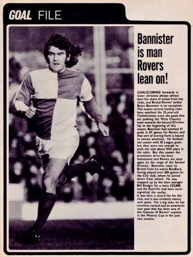 Bruce Bannister, Bristol Rovers 1973