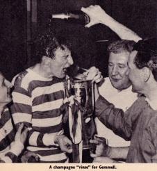 Celtic win the League Cup, 1966