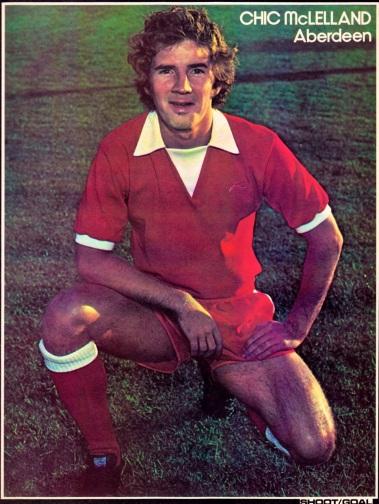 Chic McLelland, Aberdeen 1976