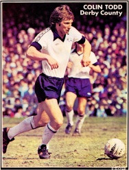Colin Todd, Derby Country 1977