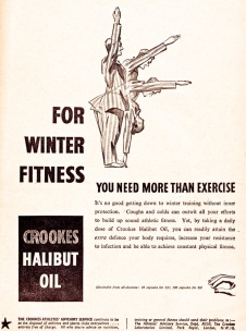 Crookes Halibut Oil 1951