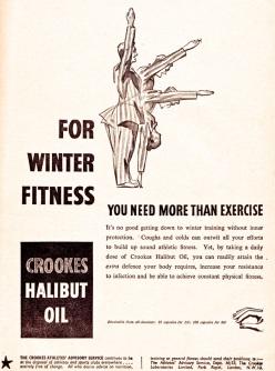 Crookes Halibut Oil 1951