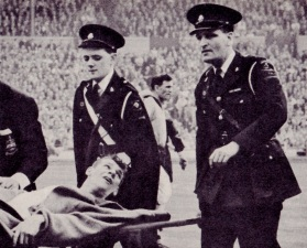 Dave Whelan injury, FA Cup Final 1960