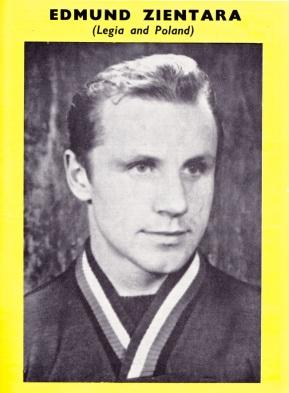 Edmund Zientara, Legia Warsaw 1960