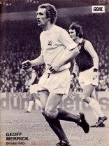 Geoff Merrick, Bristol City 1973