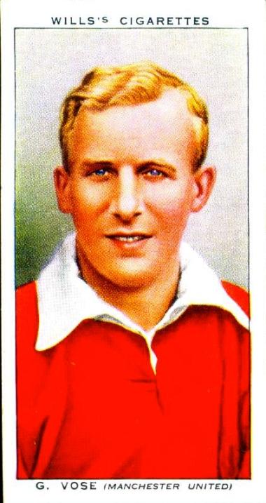 George Vose, Man United 1939