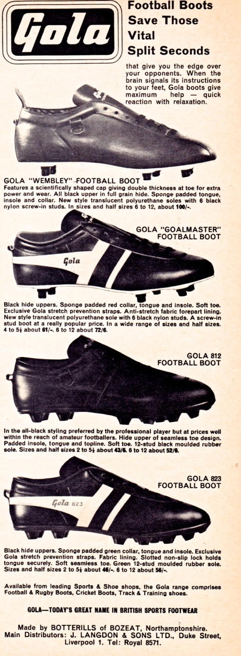 best service 8e3ad ae0c0 Gola Boots 1963-70   Beyond The Last Man