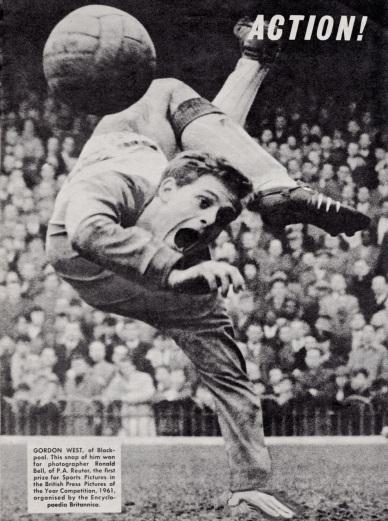 Gordon West, Blackpool 1961
