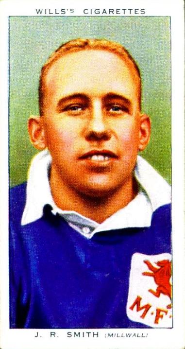 J.R.Smith, Millwall 1939