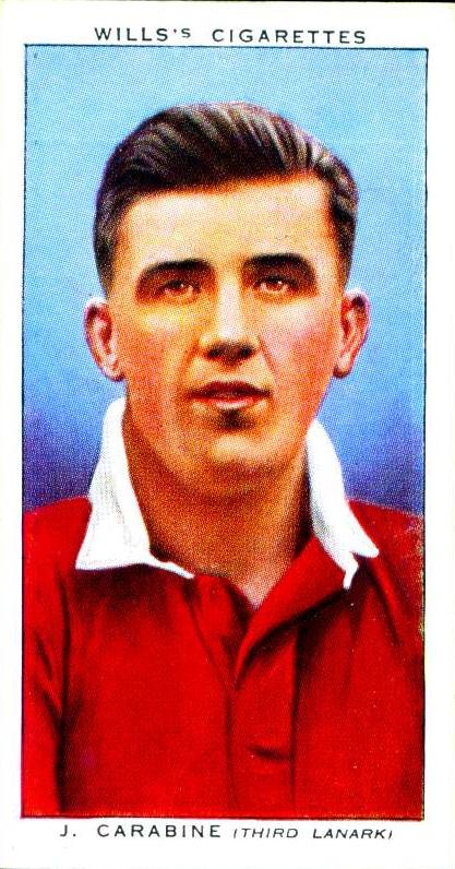 James Carabine, Third Lanark 1939
