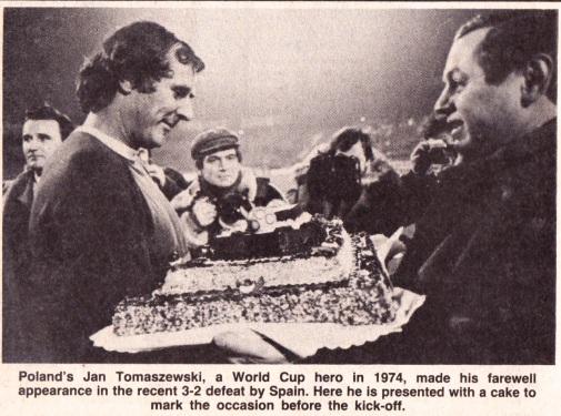 Jan Tomaszewski, 1982