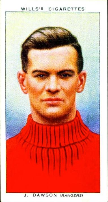 Jimmy Dawson, Rangers 1939
