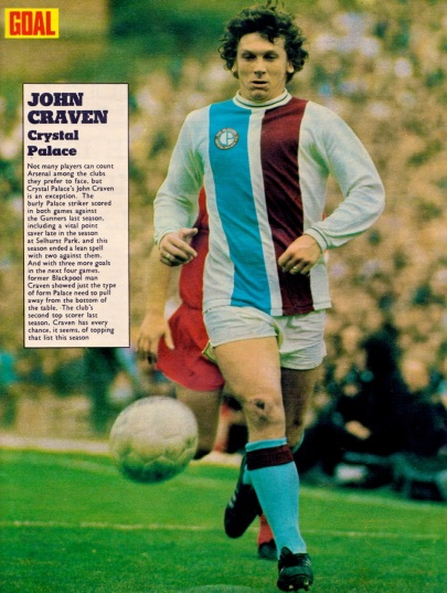 John Craven, Crystal Palace 1973
