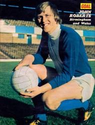 John Roberts, Birmingham City 1974