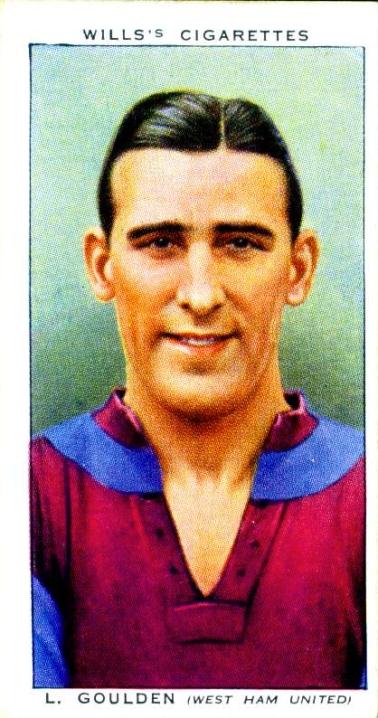 Len Goulden, West Ham 1939