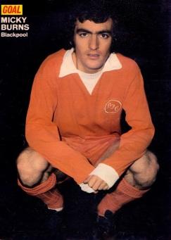 Micky Burns, Blackpool 1974
