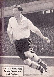Nat Lofthouse, Bolton Wanderers 1951
