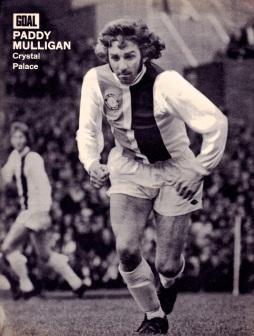 Paddy Mulligan, Crystal Palace 1973