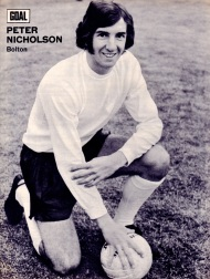 Peter Nicholson, Bolton Wanderers 1972