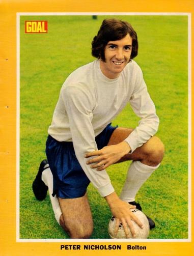 Peter Nicholson, Bolton Wanderers 1973