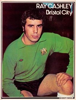 Ray Cashley, Bristol City 1976